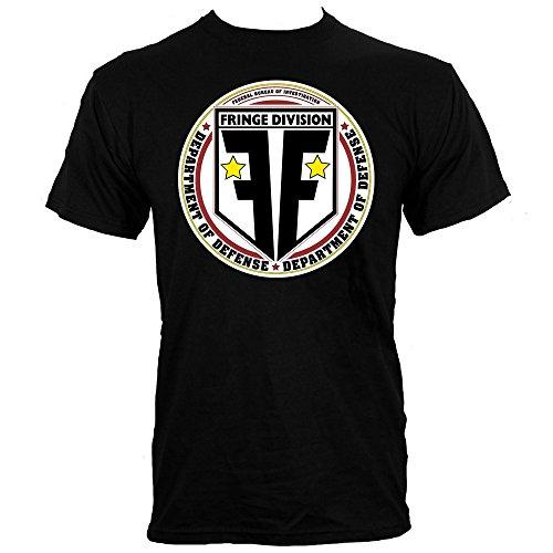 Men's Fringe Division T-shirt Black