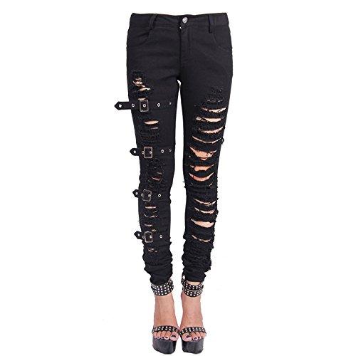 Hole Leggings - 6