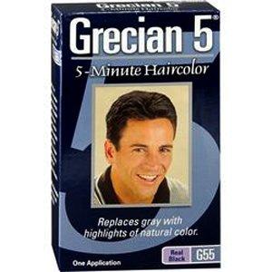 Grecian 5 Minute Haircolor Real Black