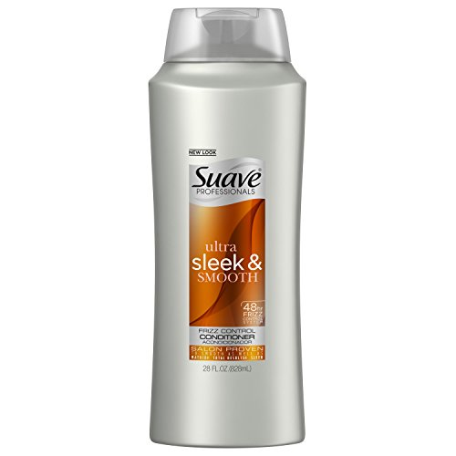 Suave Professionals Conditioner, Sleek, 28 oz