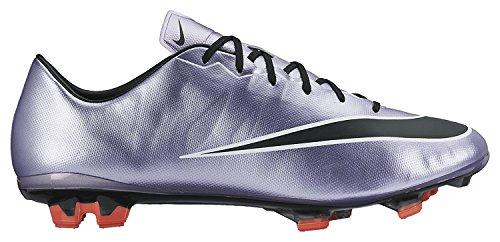 Nike Mens Mercurial Veloce II FG Soccer Cleat, WHITE/HYPER PINK//VOLT, 40.5 D(M) EU/6.5 D(M) UK
