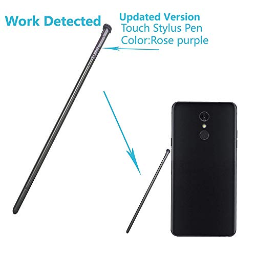 Alovexiong Rose Purple Touch Pen Screen Stylus Pen Can be Detected Replacement Parts for LG Stylo 4,Q Stylus,Q Stylus+,Q Stylus Plus,Stylus 4,Q Stylo 4,LG - Replacement Touch Stylus