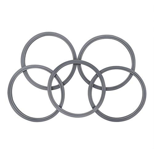 (Gasket Replacement for Nutribullet,5 PCS Gaskets Rubber Ring for Pro 900 Watt or 600 Blenders)
