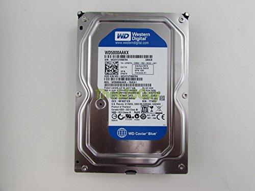 (Western Digital WD5000AAKX Blue 500GB 7200RPM 16MB SATA Hard Drive Dell P86T9)