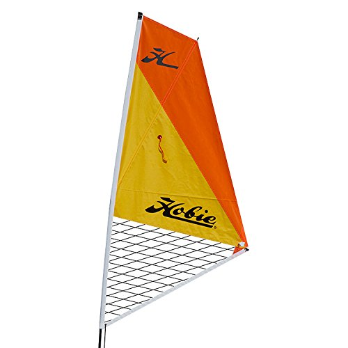Hobie Kayak Sail Kit - Papaya / Orange - 84514002 by Hobie (Image #1)
