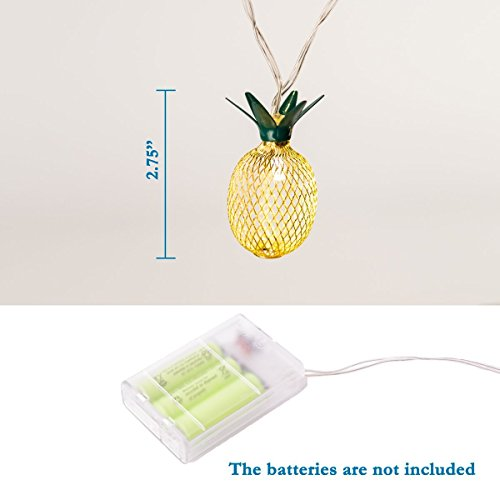 Review GIGALUMI Pineapple String Lights,