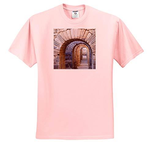 (3dRose Danita Delimont - Turkey - Turkey, Bergama, Pergamon. Arches of The Sanctuary of Trajan - Light Pink Infant Lap-Shoulder Tee (6M) (ts_312875_70) )
