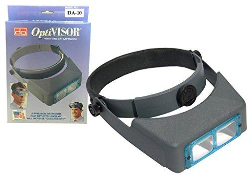 - Original Donegan OptiVISOR Head Magnifier DA-10, 3.5X, Jewelers, Watchmaker Tool