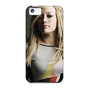 Fashionable Style Case Cover Skin For Iphone 5c- Hilary Duff Hd 6