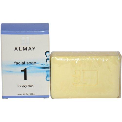 Almay Мыло для лица для сухой кожи, 3,5 унции Пакет
