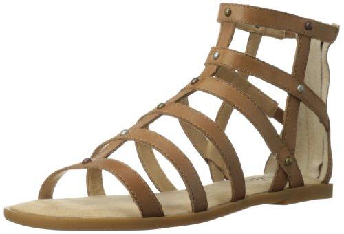 Lucky Women's Beverlee Gladiator Sandal,Dark Camel,7.5 M US