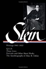 Stein: Writings 1903-1932 Hardcover