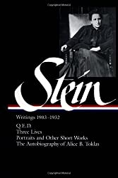 Gertrude Stein: Writings, 1903 to 1932, Vol. 1 (Library of America)