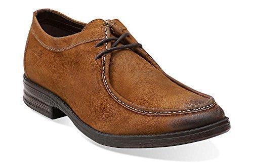 Clarks Men's Tan Leather Delsin Rise 8 D(M) US