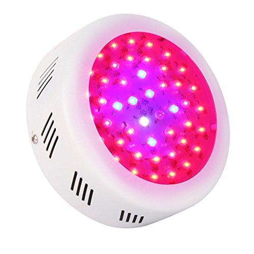 Roleadro LED Grow Lamp UFO 138W 9 Band Spectrum...