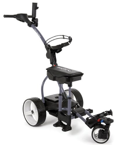 New Bag Boy Golf 2012 Navigator Elite Electric Cart Dark Grey