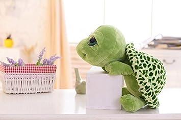 Ojos Verdes Grandes Tortuga Peluche Juguetes Muñecos de peluche Muñecas Super Fun Regalos perfectos para bebés