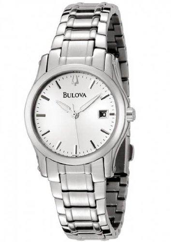 Bulova 96M103 Women's Silver Dial Stainless Steel Bracelet Watch