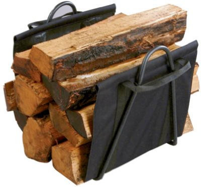 PANACEA PRODUCTS 15216 Fireplace Blk Log Tote by Panacea Products