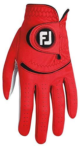 FootJoy Spectrum Men's Golf Glove Left (Fits on Left Hand) - Red CADET XL