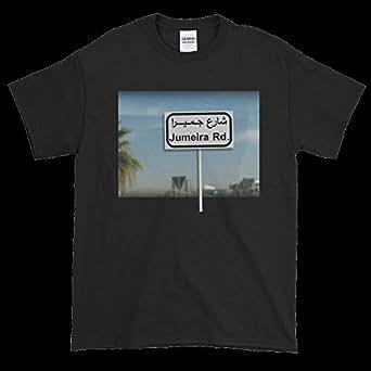 Gharzat Black Round Neck T-Shirt For Men