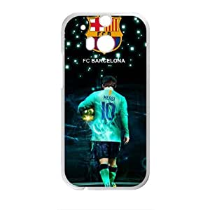 DAZHAHUI Lionel Messi Cell Phone Case for HTC One M8