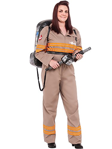 Rubie's Costume Co Women's Ghostbusters Movie Deluxe Plus Costume, Multi, One Size -