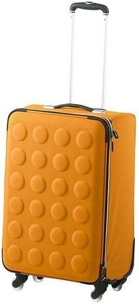 IKEA UPPTACKA - Maleta con ruedas, plegable, de color amarillo ...