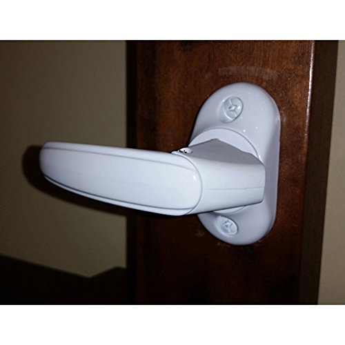 Inside Handle Storm Door Latch White-FREE SHIPPING - Inside Latch