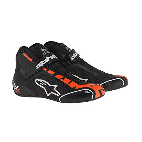 Schuhe Alpinestars Tech 1 KX 2017 schwarz/orange 35