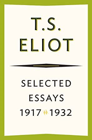 t.s. eliot selected essays dante