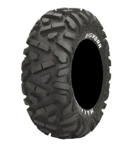 Bundle - 9 Items: MSA Black Kore 14'' ATV Wheels 28'' BigHorn Tires [4x156 Bolt Pattern 12mmx1.5 Lug Kit] by Powersports Bundle (Image #2)