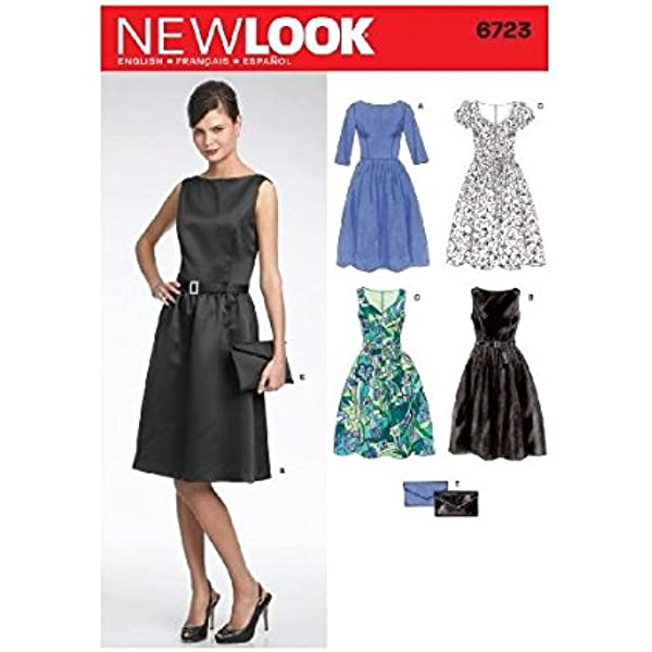6208 Vintage NEW LOOK SEWING Pattern Little Girls Dress Formal Party Bridesmaid