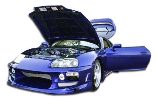 1993-1998 Toyota Supra Duraflex Bomber Front Bumper Cover - 1 - Bomber Supra Toyota