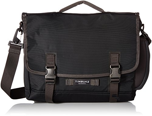 Metallic Messenger - Timbuk2 The Closer Case, Jet Black, M, Jet Black, Medium