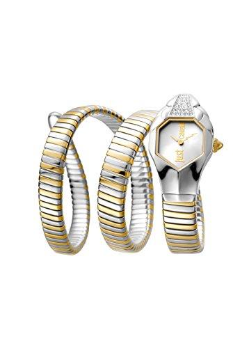 Just Cavalli Glam Chic Women's JC1L022M0045 Quartz Two Tone Gold Bracelet Watch