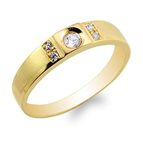 JamesJenny Mens 10K Yellow Gold Engagement Band Ring Size 10.5 (10k Gold Ring Size 5)