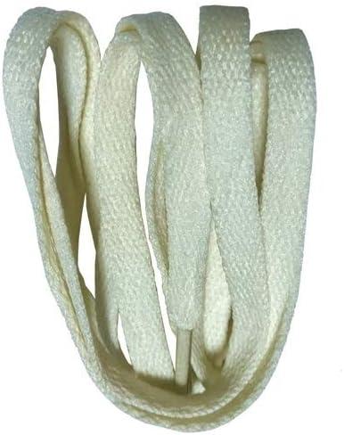 XJYWJ ワイドスニーカースポーツシューズフラット靴ひも靴ひもの8ミリメートル24色80センチメートル/ 100センチメートル/ 120センチメートル/ 140センチメートル/ 160センチメートル (Color : No 27 beige, Size : 150cm)