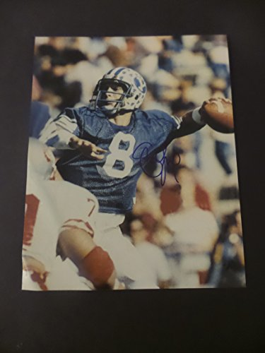 Steve Young Signed BYU Cougars Autographed 8x10 Photograph Cougar Byu Cougars Photograph