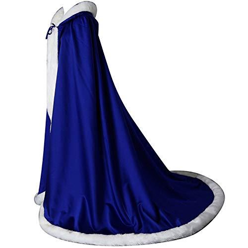 Cappa Bleu Donna L Royal Shinegown Poncho Foncé w1TFxczq