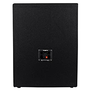 "Technical Pro (2) THUMP15 Thump 15"" 2600w Passive DJ Carpeted Subwoofers PA Subs"