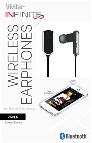 Vivitar Infinite V12786 Bluetooth Earbuds - Raven
