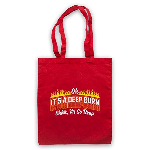 amp; d'emballage Clothing It's Art Deep Sac So Rouge Slogan Burn My A Funny It's Icon Oh Deep f1xwEw