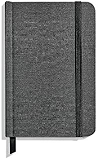 product image for Shinola Journal, Soft Linen, Plain, Charcoal Gray (3.75x5.5)