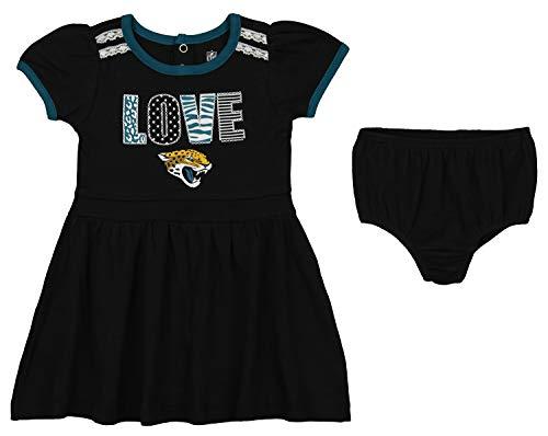 21a937ee5 Outerstuff NFL Girl s Infant   Toddler (12M-4T) 2 Piece Dress
