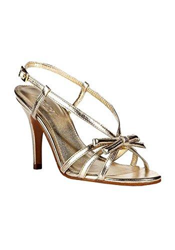 Unbekannt - Sandalias de vestir para mujer Dorado dorado Dorado - dorado