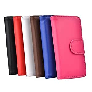 Full Body PU Leather Case with Card Slot for iPhone 5C (Assorted Colors) , Brown