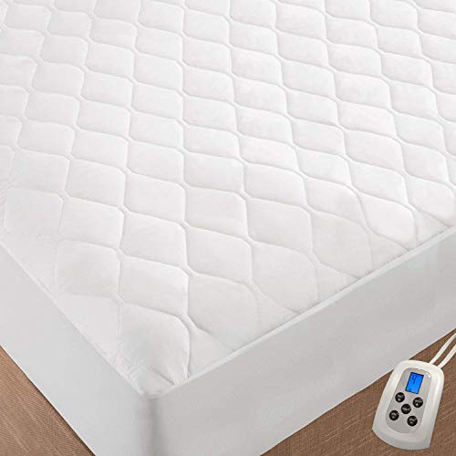 quilted electric blanket mattress pad