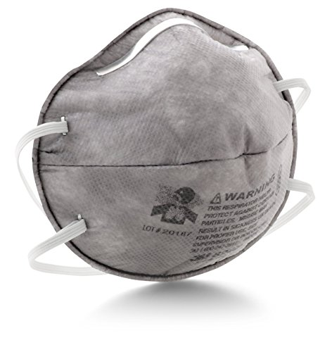 3M Particulate Respirator 8247, R95, with Nuisance Level Organic Vapor Relief (Pack of 20) (Renewed)