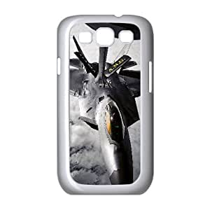 Lockheed Martin F Raptor Aircraft 0 Samsung Galaxy S3 9 Cell Phone Case White present pp001_9614180